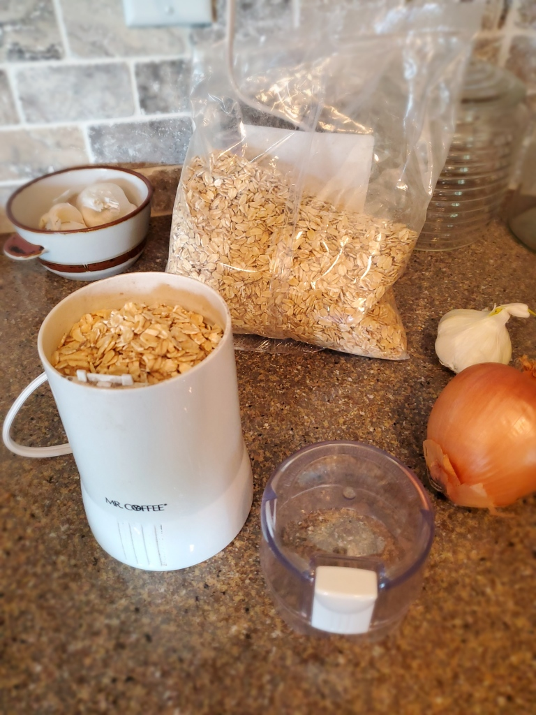 Oatmeal in a Coffee grinder