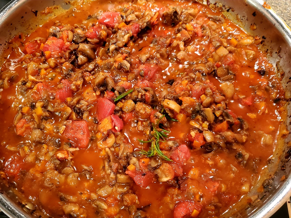 Ragout without spinach